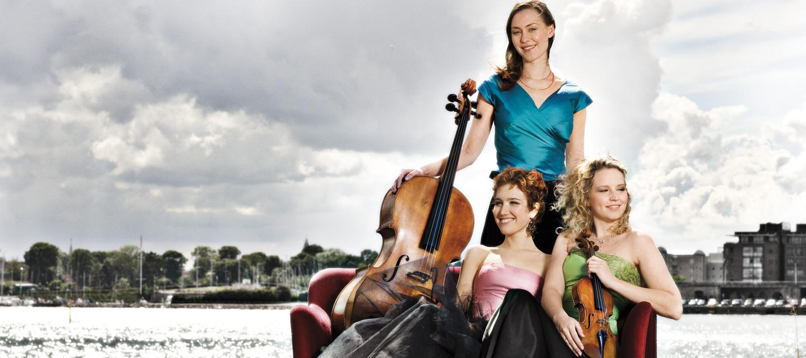 Udendørs billede af Trio Ismena gruppen